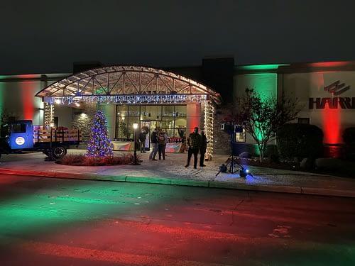 Drive Thru Holiday Party @ Harris Construction – Fresno, CA